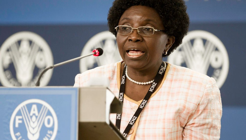 Prof. Anna Lartey, immediate past Director of Nutrition at the Food and Agriculture Organisation, UN