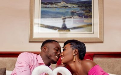 Esi & August's Special Moment
