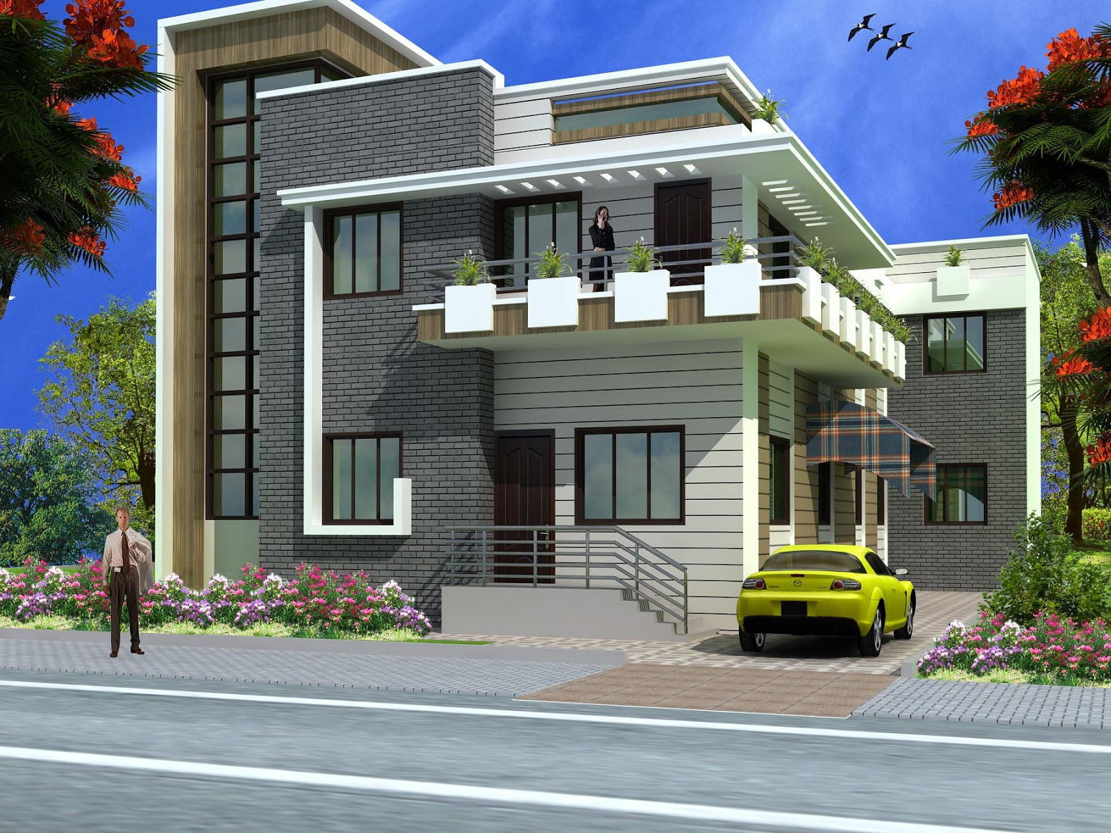Indian Houses Front Elevation Design - Home And Style