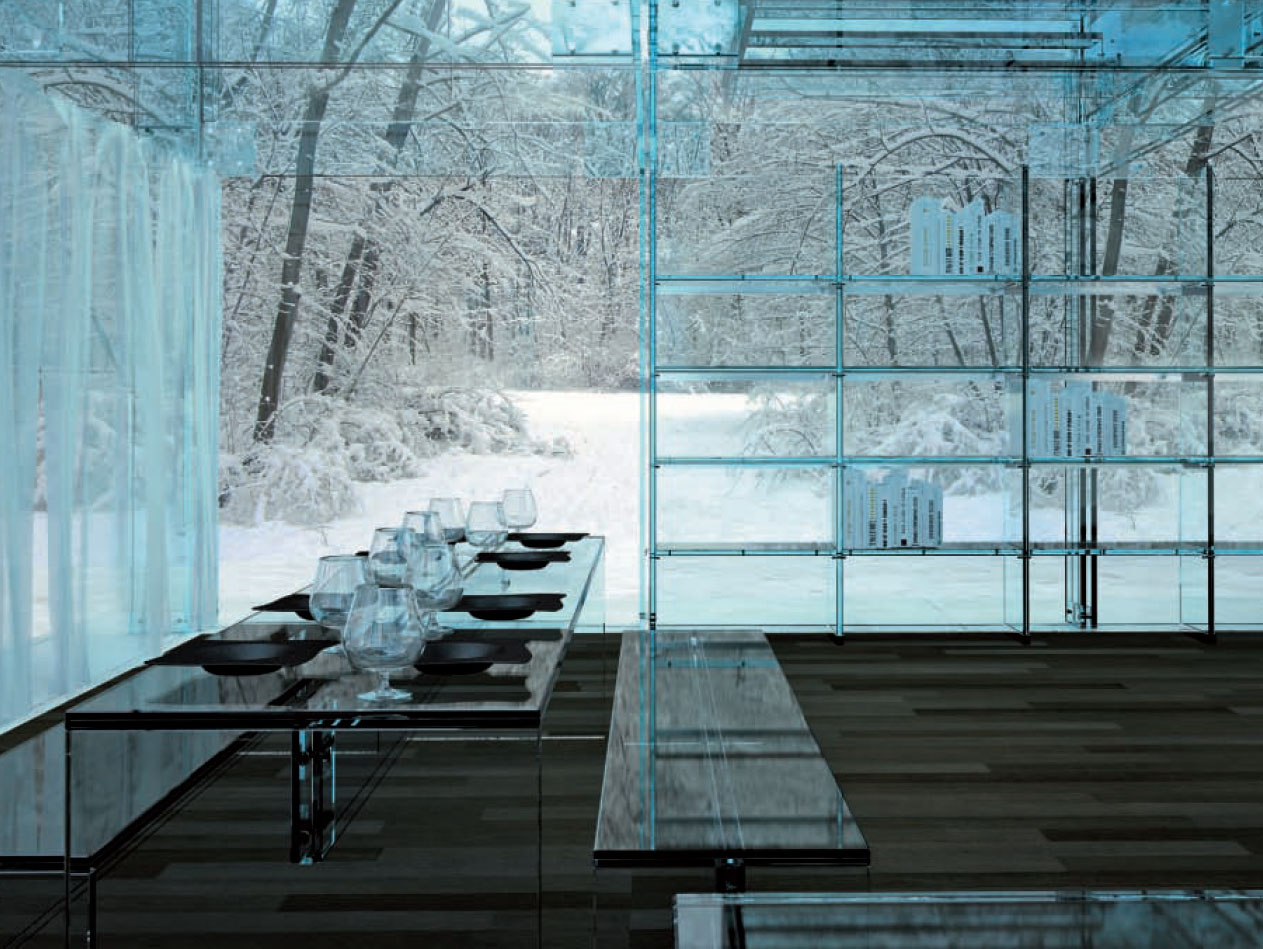 Glass Interiors & Architectural Beauty