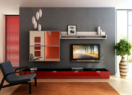 tv unit designs in living room simple ideas for decorating a 7 cool contemporary wall your