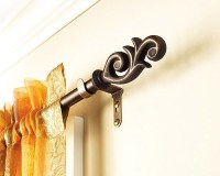 Curtain Rods  Style, types, material and design