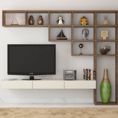 Furniture Design For Living Room Wall Canvas 7 Cool Contemporary Tv Unit Designs Your Having A Good Will Add Pleasure To Enjoy Favorite Program