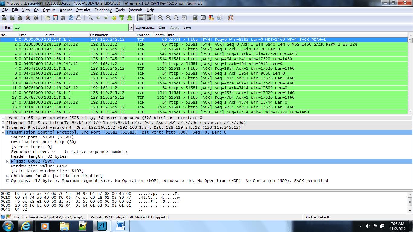 Wireshark 4  gharp1