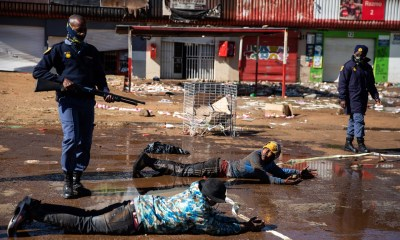 South Africa riots