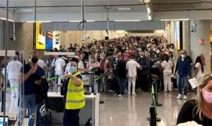 KLM Flight passengers stranded