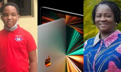 Our Day: Prof Naana Jane Promises To Buy Oswald The Latest iPad Pro