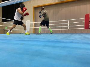Ghana Amateur Boxing Team Train in Tokyo Ahead Of Olympics