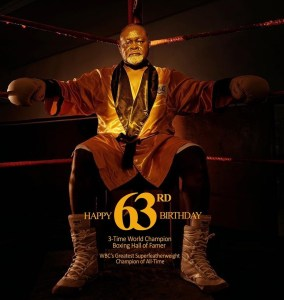 Azumah Nelson at 63