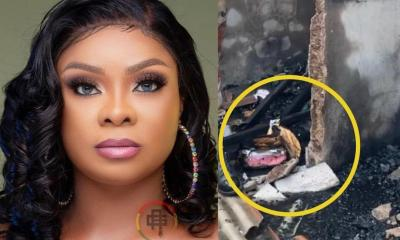 I Don't Even Have Panties To Wear – Beverly Afaglo Speaks After Fire Destroyed Her House [Video]