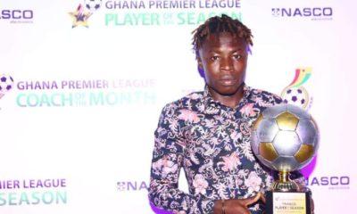 Hearts of Oak's Ibrahim Salifu Named GPL Best Player