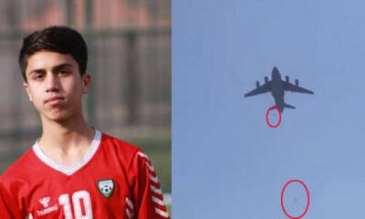 Afghan Footballer Falls To Death From US Plane In Kabul