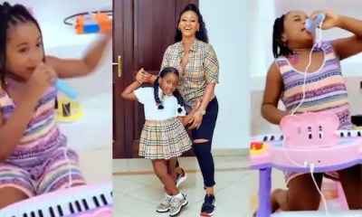 Hajia4Reall's Daughter, Naila Performs Her God's Child Song In New Video; Behaves Just Like Mom