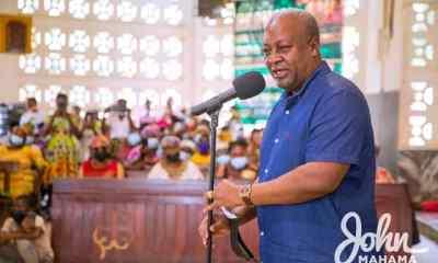 I Would Give EC Boss F For Conducting The Worst Elections In Ghana's History - John Mahama Replies Jean Mensa