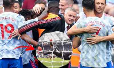 Man United Players Mobbed David de Gea After Saving A Penalty Since 2016 As They Beat Westham (Watch)