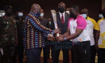 Akufo-Addo Receives Queen's Baton For Birmingham 2022 Commonwealth Games