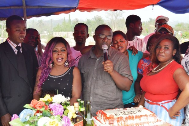 Afia celebrates (1)