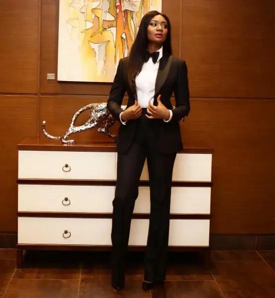 Sandra Ankobiah at the 2016 Glitz Style Awards