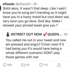 Sista Afia And Efia Odo Fight On Twitter After She Called Her Emotional 3 768x768