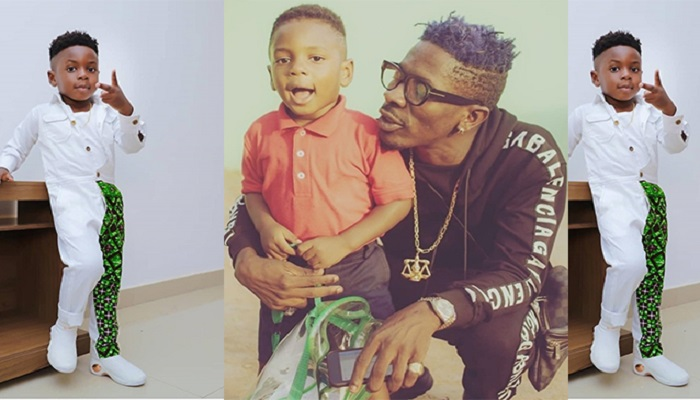 Shatta Wale And Son