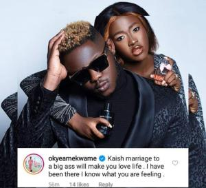 Okyeame Kwame Big Ass Comment