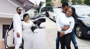 Rev Obofour And Wife Celebrate Their 10th Wedding Anniversary In Adorable Video 696x381