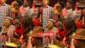 See How Funny Face Got Snubbed By Jackie Appiah After He Tried To Kiss Her In Public 768x432