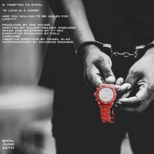 Kizz Daniel - Tempted To Steal mp3 download