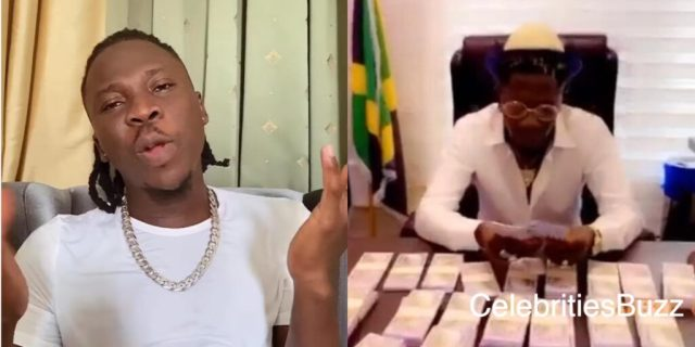 Stonebwoy reacts after Shatta Wale jammed on his 'Putuu' song
