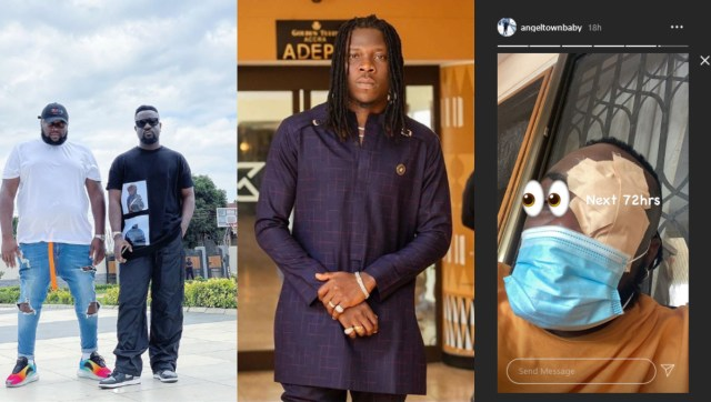 Video: Stonebwoy allegedly physically attacked Angel Town following disagreement at Sarkodie's rehearsal session