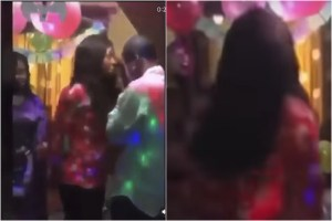 Video: Angry Lady Storms Birthday Party Being Organised By Her Boyfriend For His Side Chic And Ruins Everything