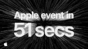 Apple Events In 51 Seconds