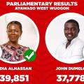 John Dumelo calls for recount in Ayawaso West Wuogon race