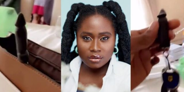 Lydia Forson Flaunts Her D!ck Like Key Holder On Social Media