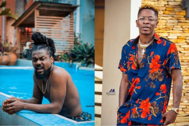 """""""Ade Give You Lift, You Go Sit or u no go Sit!!"""" - Shatta Wale Asks Samini In new Beef"""