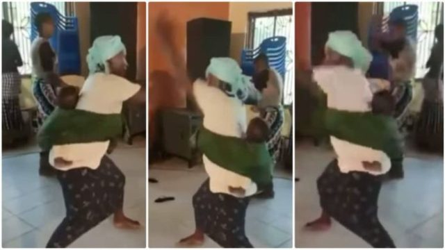 Drama In Church As Energetic Women Fight The 'Devil' With Serious Karate skills [Watch]