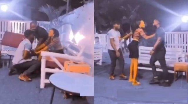 Date Rush: Raymond Seen On Camera Fighting a Guy Over Cilla (Watch Video)