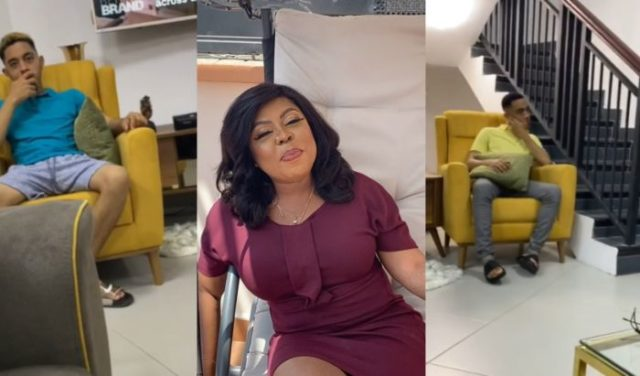 Afia Schwar Neglects Her Son James After He Disobeyed Her To Follow Naa Korshie