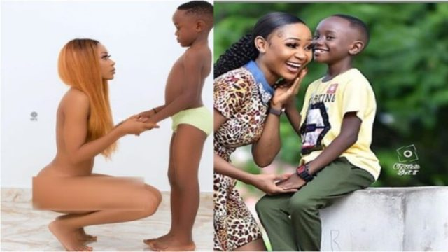 Ghanaians React To Conviction Of Akuapem Poloo As A Single Mother Over N@ked Photo With Son