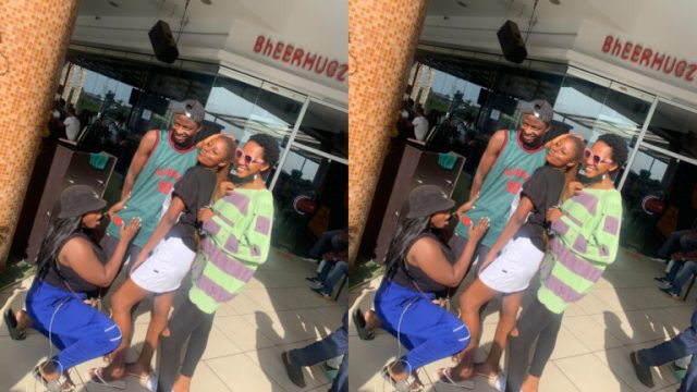 Lady Cries Out As Friends S3xually Harass Her When She Jumped