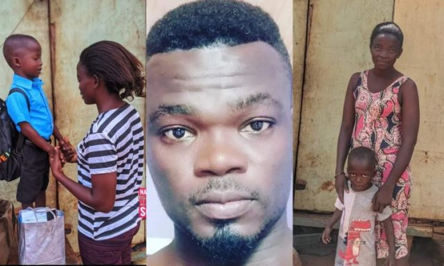 Nana Tea Does It Again As He And His Friends Help A Single Mother Enroll Her Son In School (+PHOTOS)