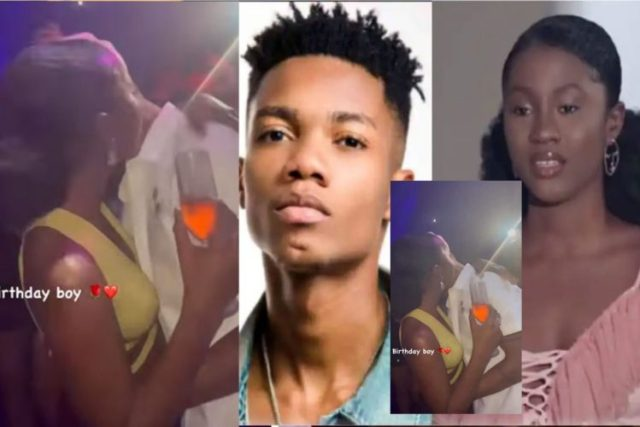 'Love's Joint'- KiDi & Cina Soul spotted at a party doing things (Watch Video)