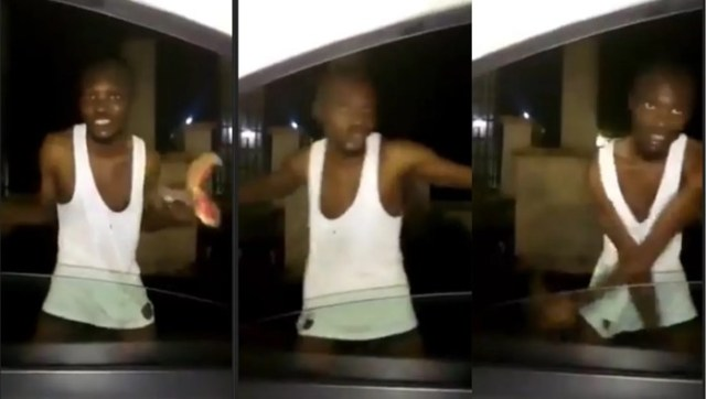 Young Man Runs Mad After Refusing To Use His Mother For Money Ritual (Watch Video)