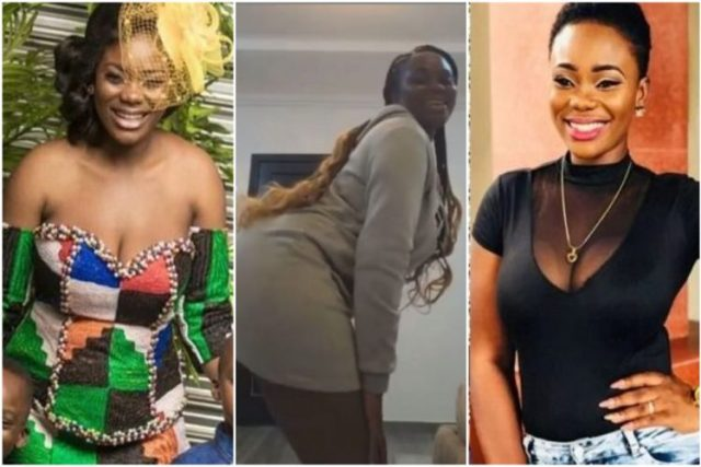 Akua GMB shakes her bortos In A New Video As She Sades her Former Husband, Dr kwaku Oteng What He's Missing (Watch Video)