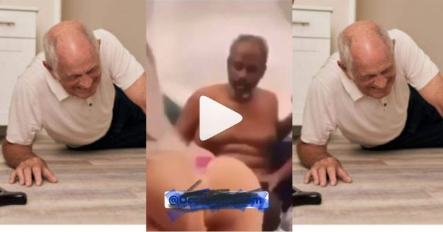 """Old """"Obroni Dwamafoc"""" Faints After Two Ladies Shook Their Soft Bortos In His Face (Watch Video)"""