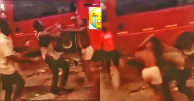 Man dɨes on the spot in a street fight with best friend while other friends stupidly cheer them on