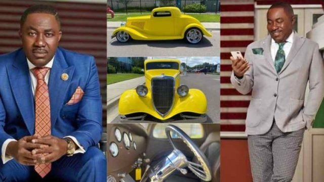 """Osei Kwame Despite buys """"Ford Coupe"""" a new vintage car with special customisations (Photos)"""