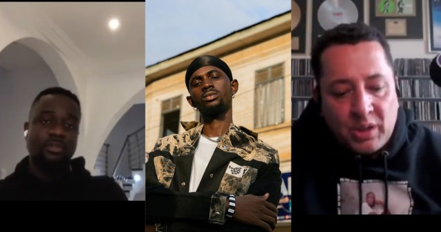 Sarkodie Praises Black Sherif As He Recommends Him To An International Artiste