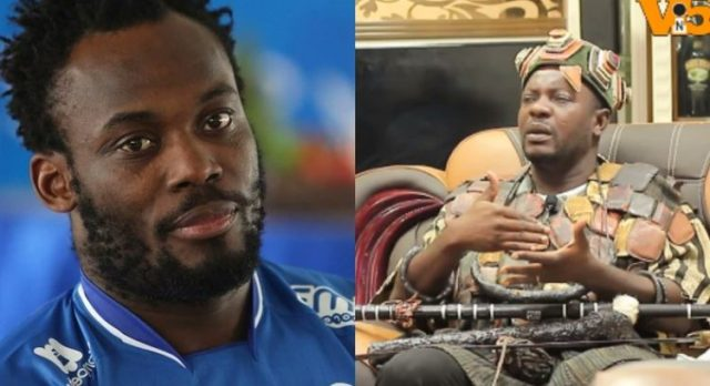 """""""I Mafia Michael Essien because he failed to honour Me a promise of buying a house"""" – Spiritualist claims (Video)"""
