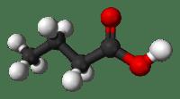 Butyric-acid-3D-balls